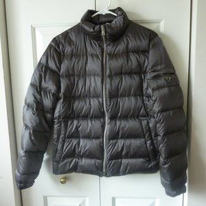 Prada Quilted Puffer Down Jacket